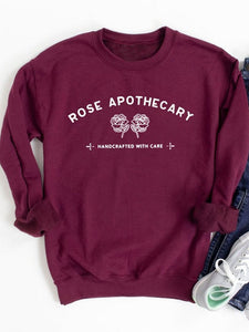 [PRE-SALE] Rose Apothecary Handcrafted With Care Sweatshirt