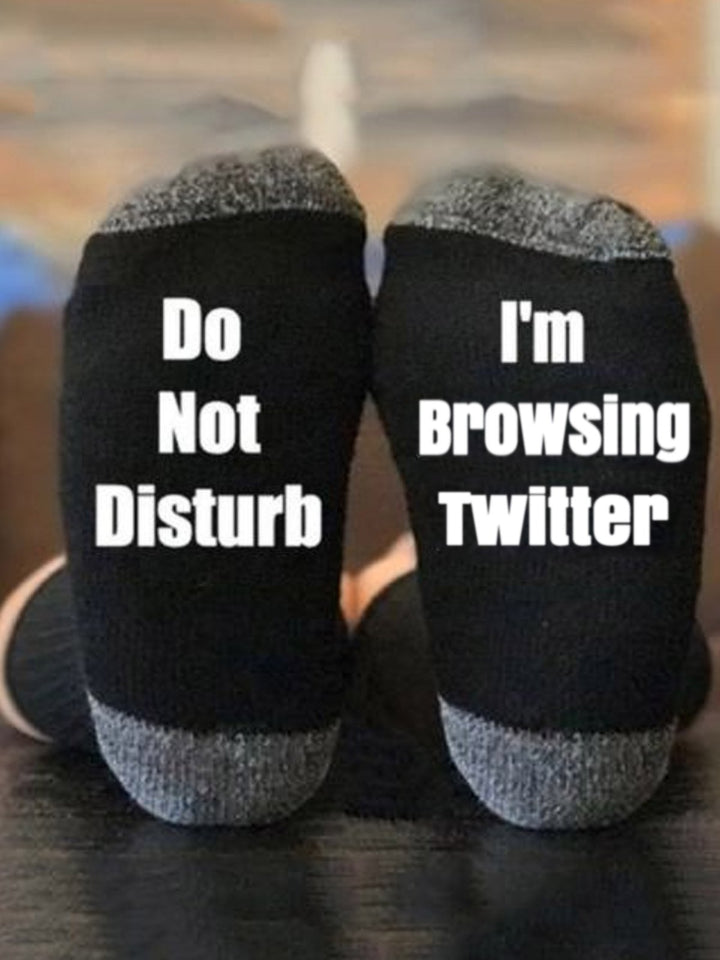 I'm Browsing Twitter Socks