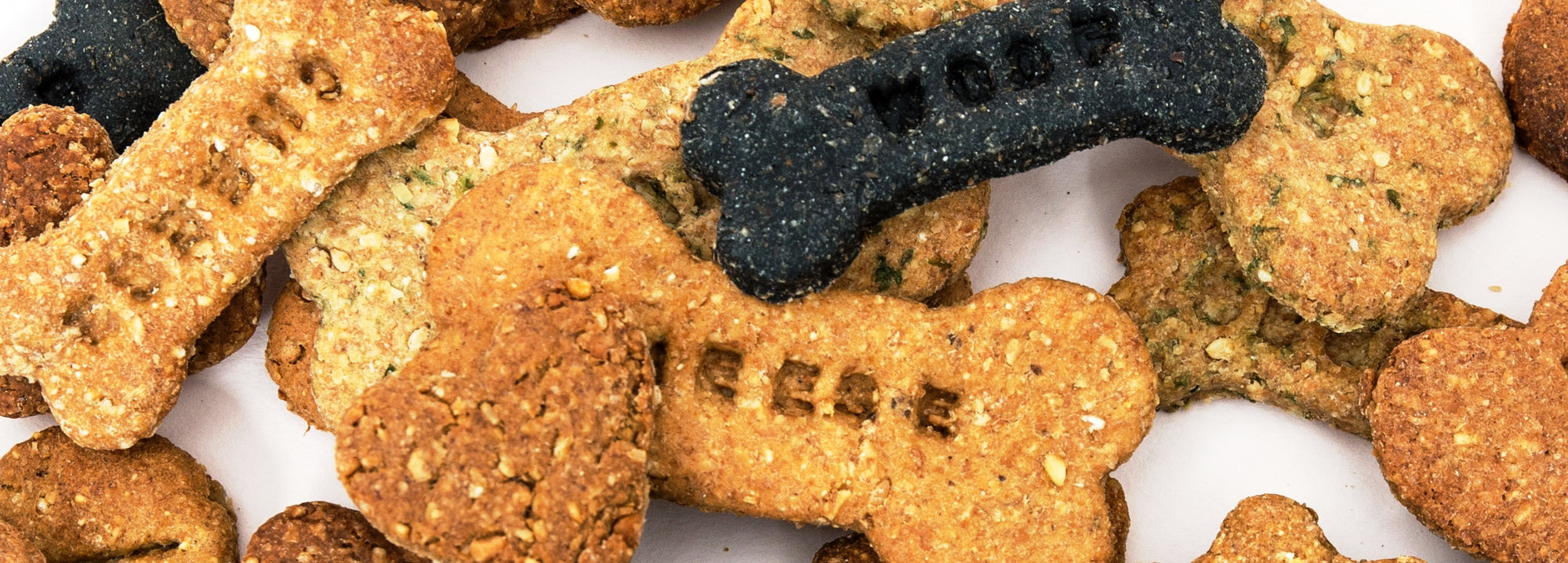 Handmade dog biscuits and treats