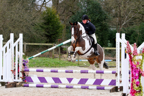 Chunky showjumping