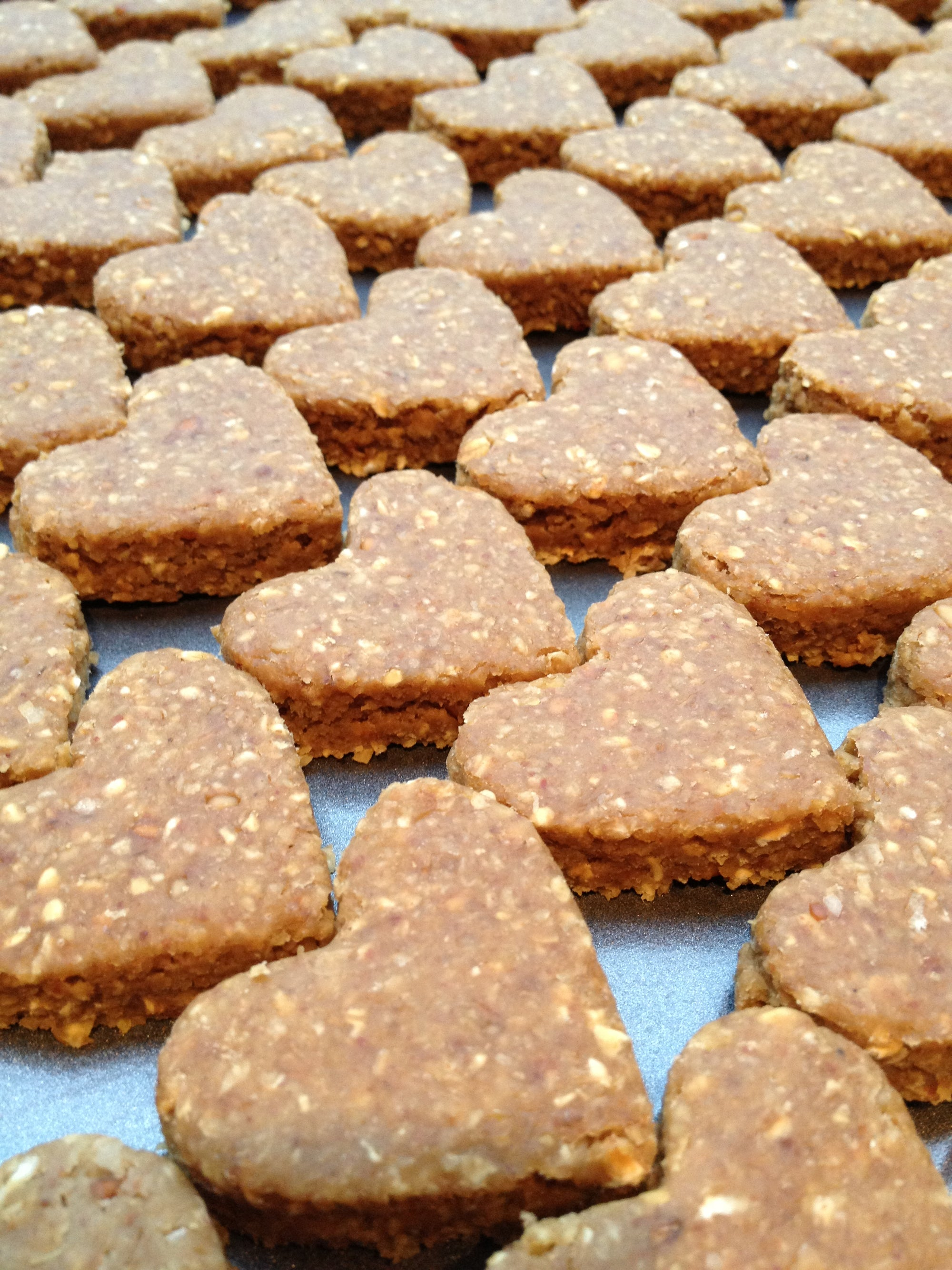The Little Pet Biscuit Company handmade peanut butter and banana dog biscuits. Natural dog treats. Dog biscuits