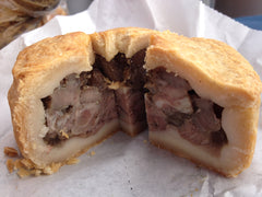 Delicious pork pie from Jake's Artisan Pies