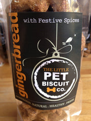 Gingerbread with Festive Spices Dog Biscuit