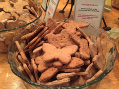 Biscuits from the Bark Avenue Bakery