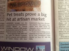Little Pet Biscuit Company in the press