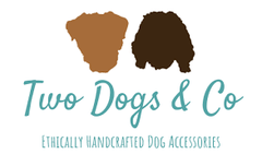 Two Dogs & Co - cork leather dog poo bag pouches