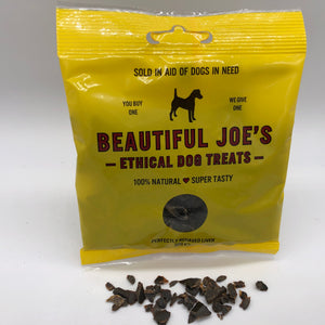 Beautiful Joe's liver dog treats