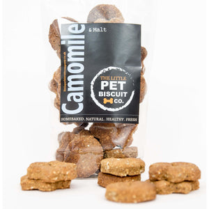 Camomile calming natural dog biscuits