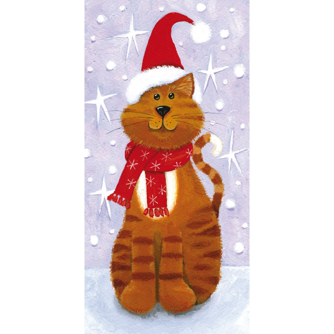 Tom Cat festive card