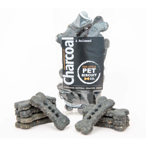 Charcoal & Aniseed natural dog biscuits
