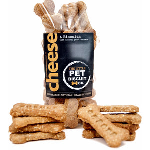 Cheese & Natural Yeast Extract dog biscuits