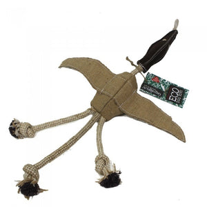Desmond the Duck eco dog toy
