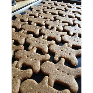 Gingerbread Dog Biscuits