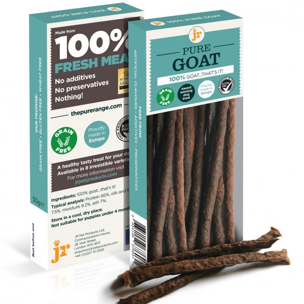 Goat sticks for dogs - 100% pure meat