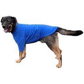 HOTTERdog fleece dog jumper in royal blue