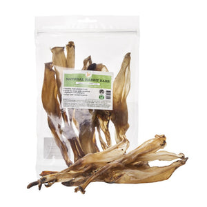 Rabbit ears - 100% natural dog chews from JR Pet Products