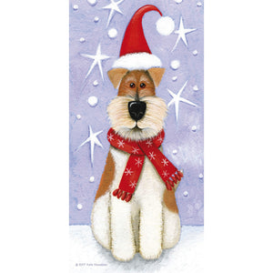 Rufus - festive greeting card