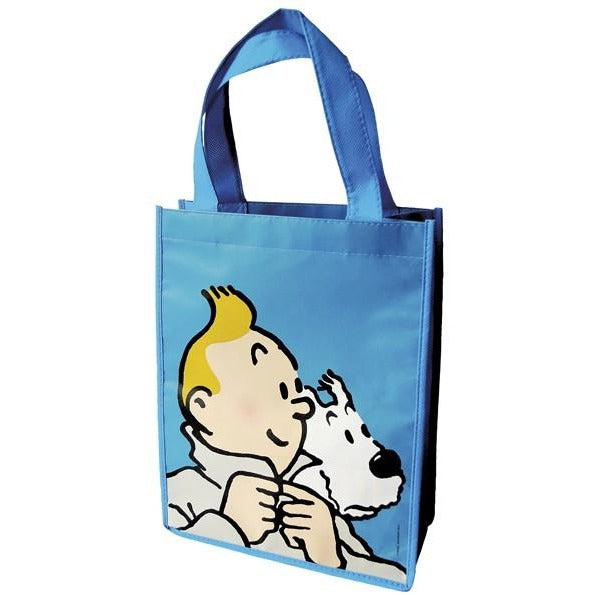 Small Tintin Shopper Bags in 4 colours