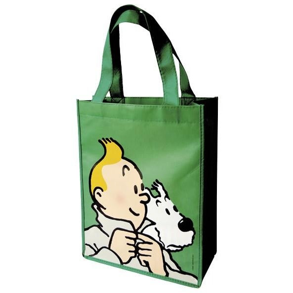 Small Tintin Amp Snowy Shopping Bags Perfect Give For