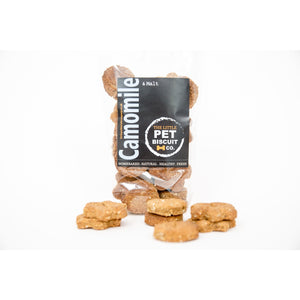 Camomile & Malt dog biscuits
