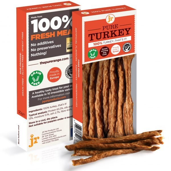 Turkey sticks - 100% pure meat dog treats