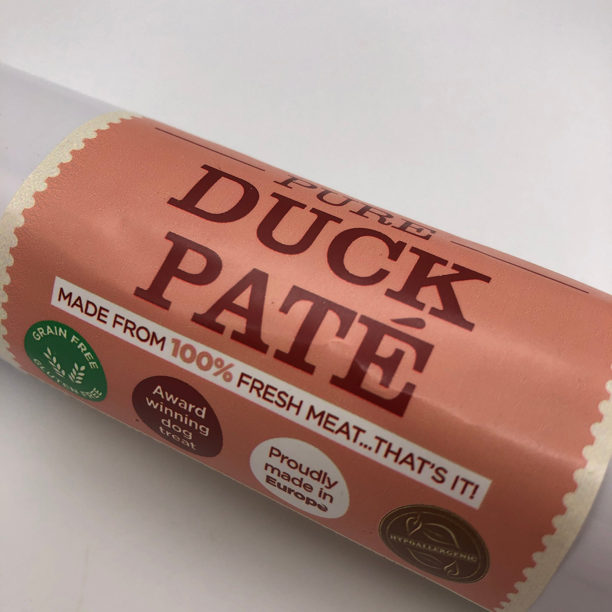 Duck Paté for dogs - 100% pure meat