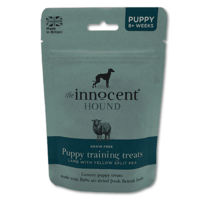 Innocent Hound sliced lamb sausage puppy treats
