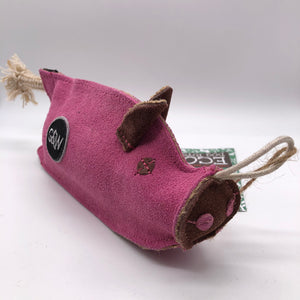 Peggy the Pig eco friendly dog toy