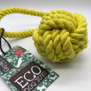 Rope Ball eco friendly dog toy