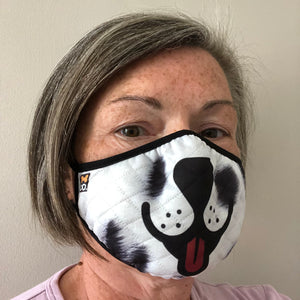 dog themed face mask - Patch