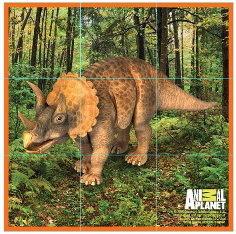ANIMAL PLANET Puzzle Cubes - Dinosaurs