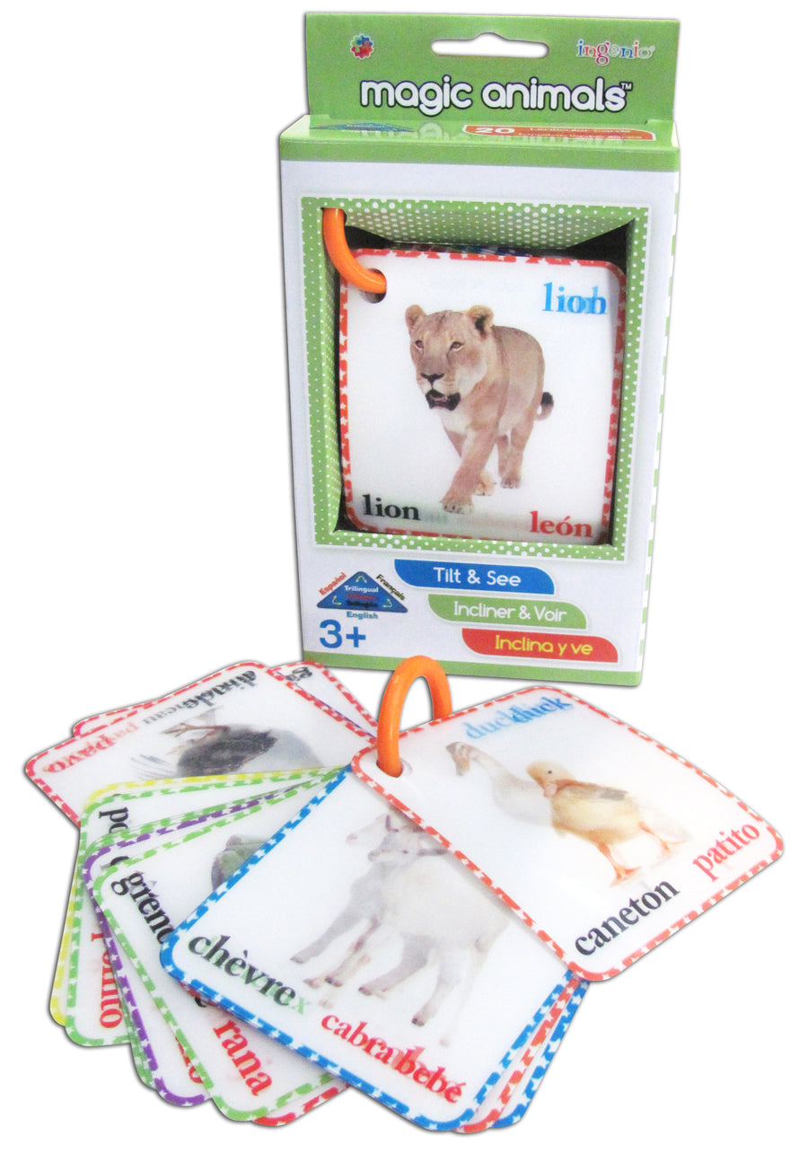 Magic Animal Babies Flash cards