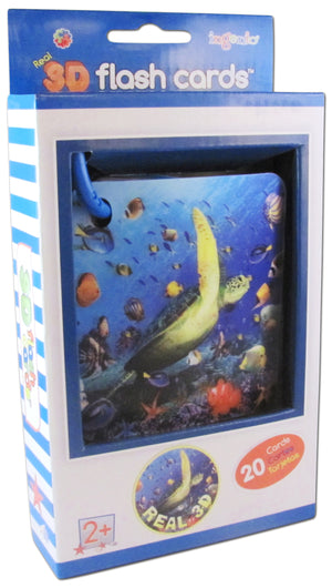 Real 3D Flash Cards - Ocean animals