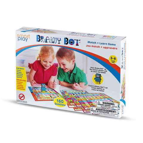 BRAINY BOT - Preschool matching game