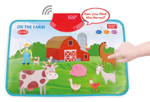 TALKING PLACEMATS - ON THE FARM