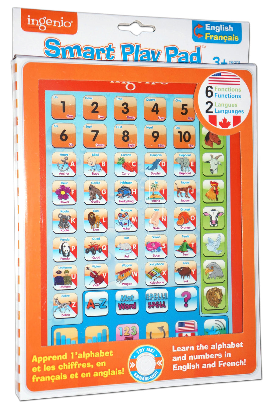 Smart play pad - French & English
