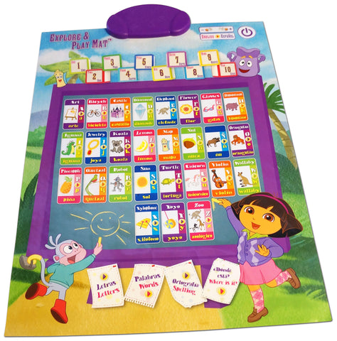Dora Explore & Play Mat