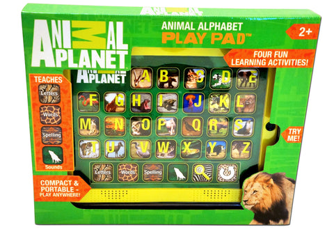 ANIMAL PLANET - Animal Alphabet Play Pad