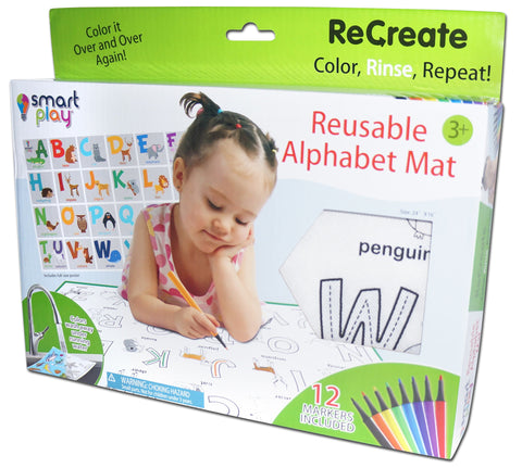 Recreate - Reusable Alphabet mat - ANIMAL ALPHABET