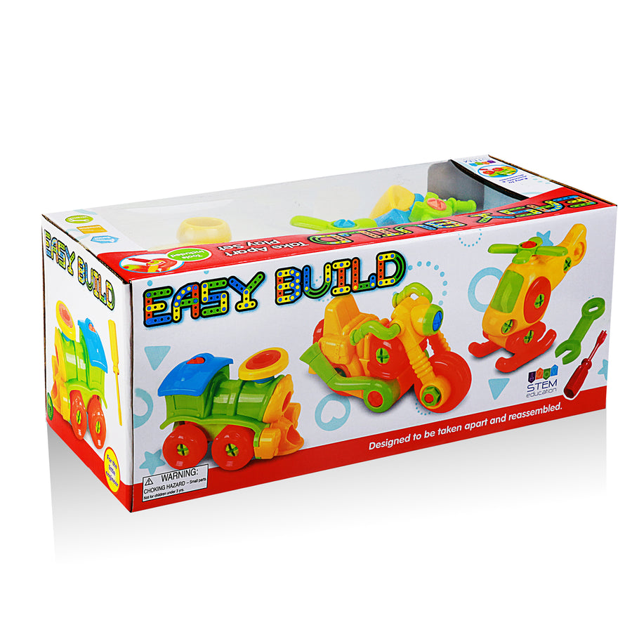 Easy Build Play Set  (3 piece bundle)