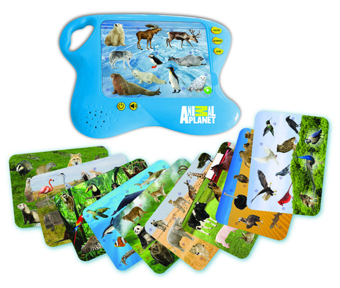 ANIMAL PLANET - Animals of the World Learning Pad