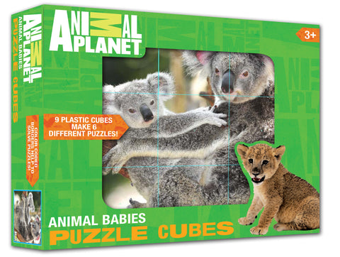 ANIMAL PLANET Puzzle Cubes - Animal Babies
