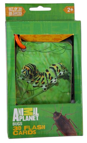 ANIMAL PLANET 3D Flash cards - BUGS & INSECTS