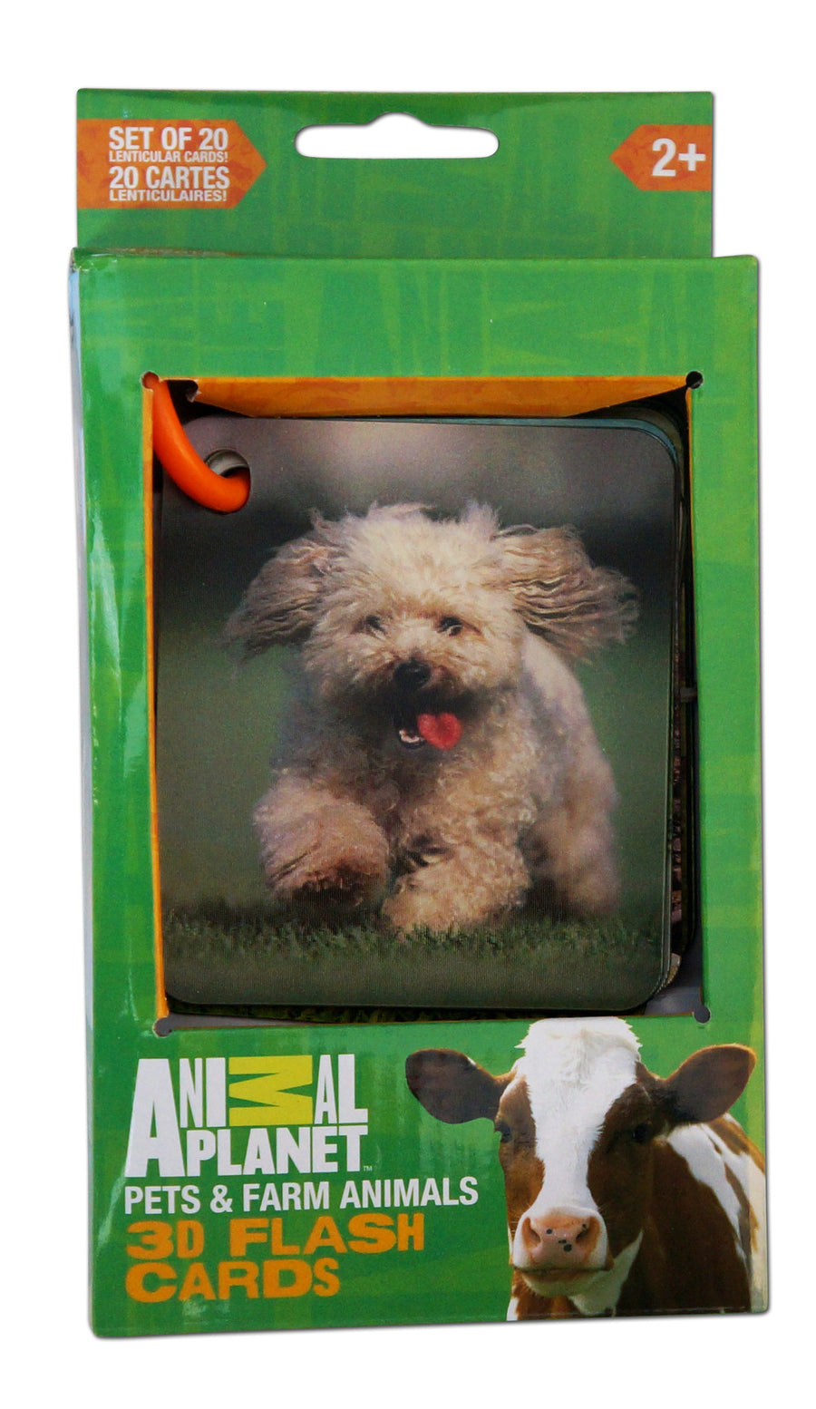 3D Flash cards - PETS & FARM ANIMALS