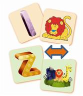 3D Magic Magnets - Animal alphabet