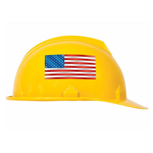 Numbered Hard Hat Stickers