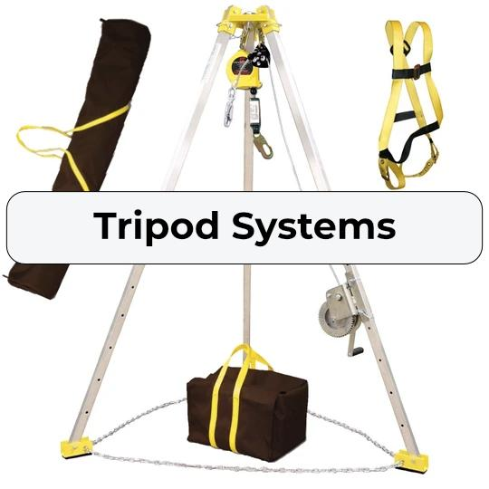 Confined Space Entry Tripod Rescue Systems