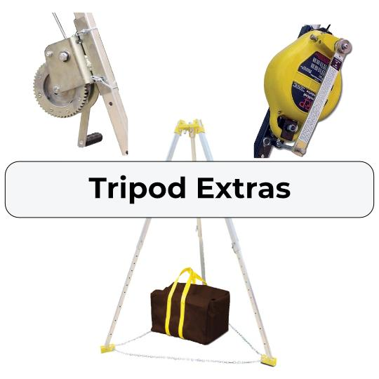 Confined Space Tripod Parts and Accessories
