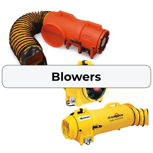 Explosion Proof Fan >> Confined Space Ventilation Blowers – Major Safety