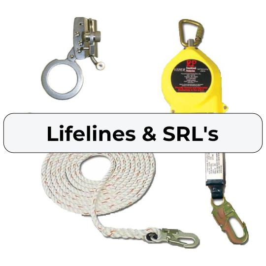 Fall Protection Lifelines and Rope Grabs